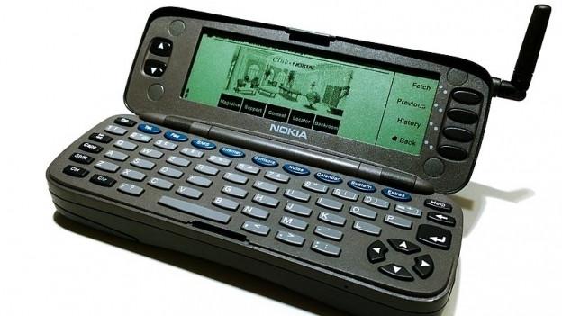 Der Nokia Communicator kam am 15.08.1996 in die Läden.