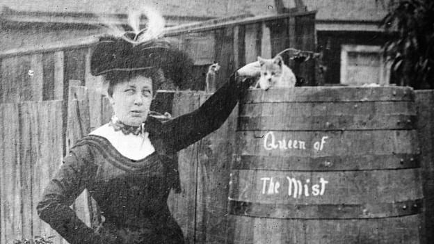 """Annie Edson Taylor, ihre Katze und die """"Königin des Nebels"""""""