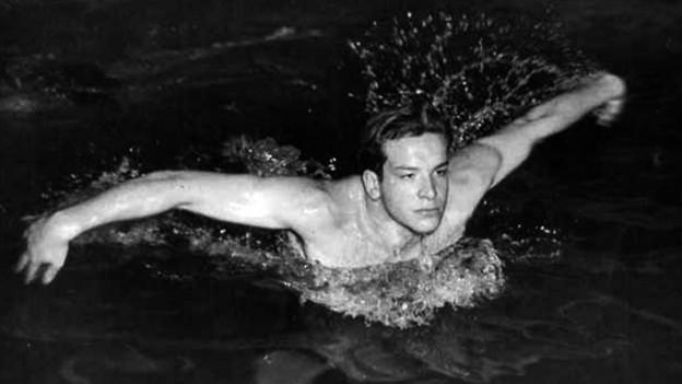 Carlo Pedersoli in seiner Zeit als Schwimmer