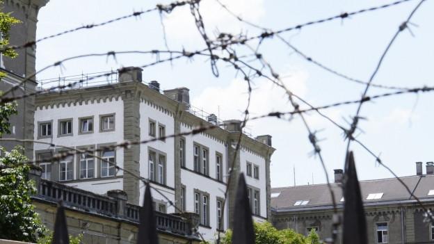 Heute ist das Kasernenareal Sitz der Kantonspolizei