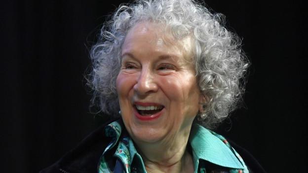 Margaret Atwood bei der Vorstellung ihres neusten Romans.