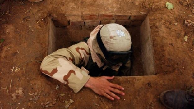 Hier versteckte sich Diktator Saddam Hussein