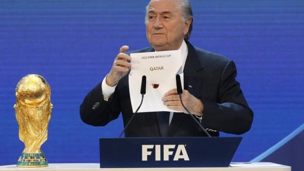 Katar - damit hatte bei der WM-Vergabe in Zürich niemand gerechnet.