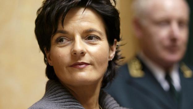 Ruth Metzler musste Christoph Blocher weichen.