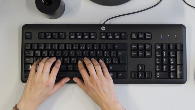 Die QWERTZ-Tastatur