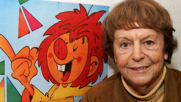 Die Autorin Ellis Kaut schrieb die Pumuckl-Geschichten für den Bayerischen Rundfunk