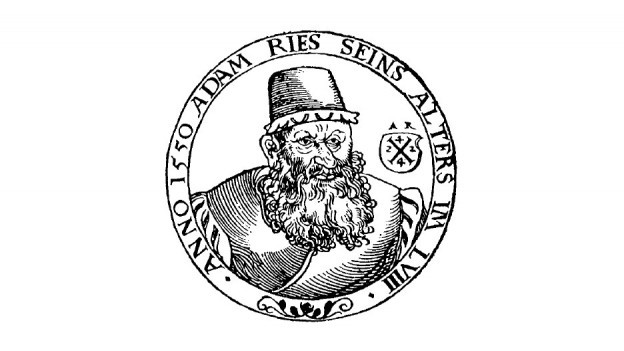 Abbildung von Adam Riese aus dem Jahr 1550