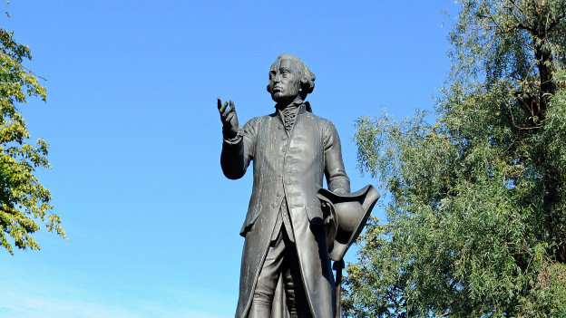 Denkmal des deutschen Philosophen Immanuel Kant