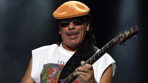 Santana live am Moon and Stars Festival in Locarno