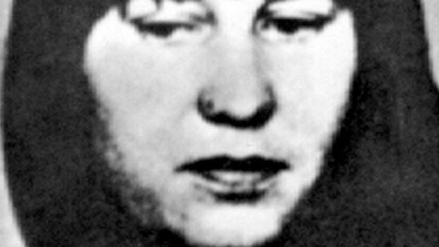 Ulrike Meinhof: Verhaftet nach intensiver Fahndung.