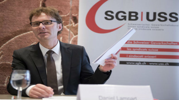 Daniel Lampart, Chefökonom SGB.