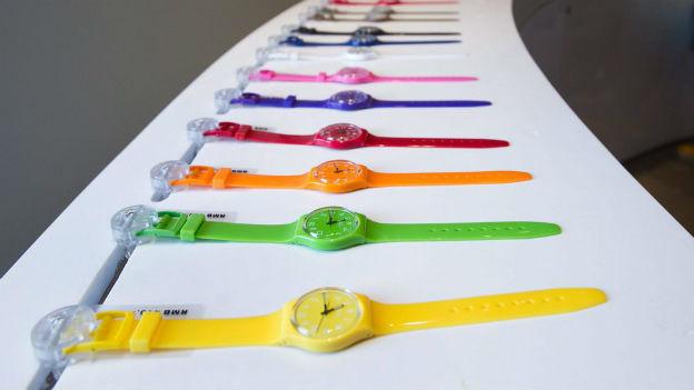 Swatch - die Plastikuhr wird 30