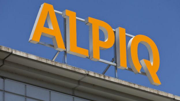 Logo vor blauen Himmel: der Geschäftsgang von Alpiq war 2012 hingegen düster