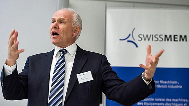 Hans Hess ist Präsident von Swissmem und Vizepräsident von Economiesuisse.