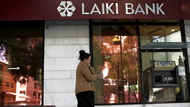 Auch die Zyprischen Bankkunden müssen sich an der Rettung Zyperns beteiligen.