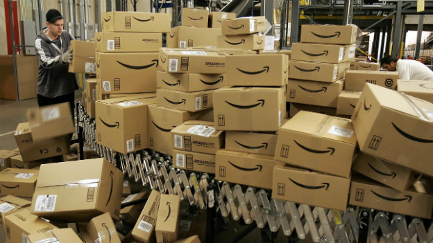 Onlinehandel: Verpackungscenter von Amazon in Nevada.