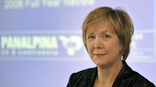 Monika Ribar: CEO des Logistik-Unternehmens Panalpina.