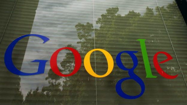 Am Google-Hauptsitz im kalifornischen Mountain View.