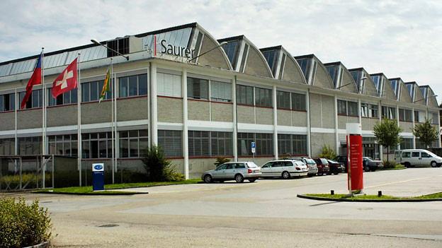 Saurer-Werk in Arbon