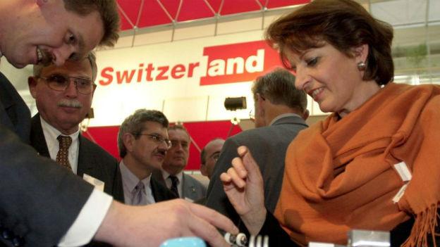 Unternehmensberaterin Barbara Rigassi (2001).