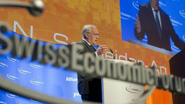 Bundesrat Schneider-Ammann am SEF 2011