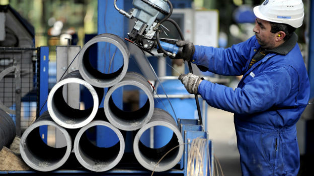 Stahlrohre sind Gegenstand des jüngsten Handelsstreits zwischen China und der EU.