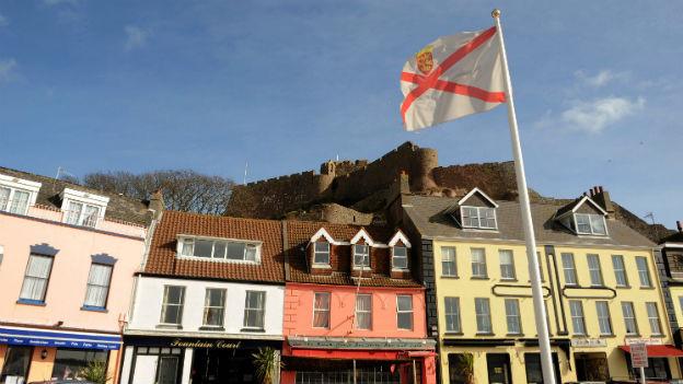 Die britische Kanalinsel Jersey gilt als Steuerparadies: Der Hafenort Gorey Harbour.