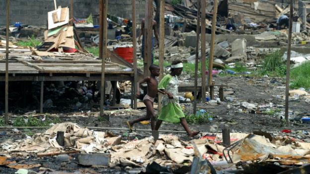 Armut, Hunger, Unruhen: Zeichen, dass ein Staat gescheitert ist.