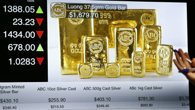 In den letzten Wochen ging es mit dem Goldpreis konstant bergab.