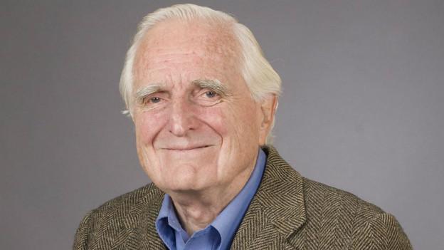 Doug Engelbart, Erfinder der Computer-Maus.