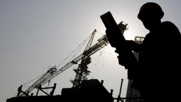Chinas Wirtschaft wächst langsamer als auch schon.