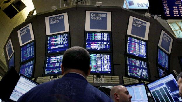 Gute Geschäfte an der Wall Street: Goldman Sachs hat den Gewinn im zweiten Quartal verdoppelt.