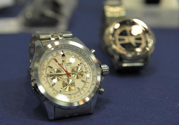 Schweizer Uhren sind im Ausland gefragt.
