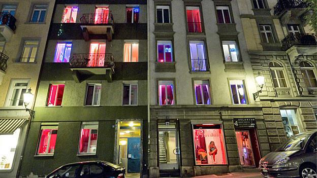 Prostitution im Zürcher Niederdorf.