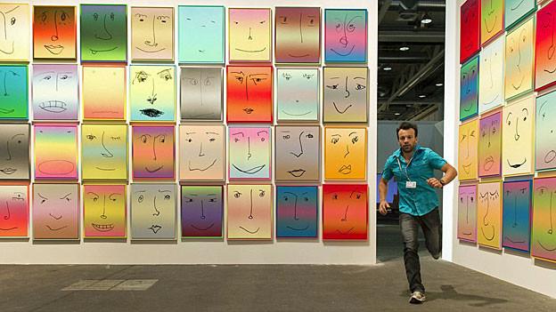 Kunst an der Art Basel: «Us» des US-Künstlers Rob Pruitt.