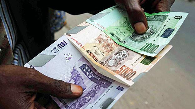 Korruption ist in Afrika weitverbreitet.