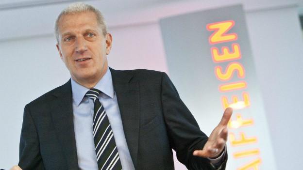 CEO der Raiffeisenbank: Pierin Vincenz.