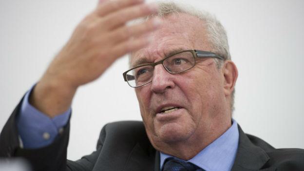 Hanspeter Lebrument, alter und neuer Präsident des Verbandes Schweizer Medien.