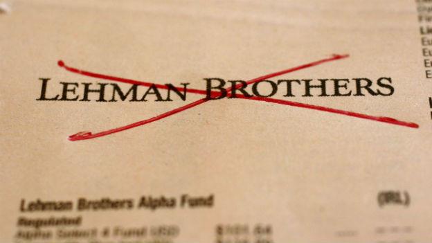 Am 15. September 2008 ging die US-Bank konkurs.