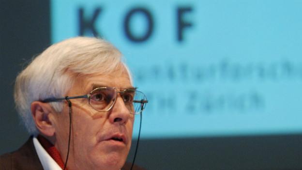 Die KOF wird 75 Jahre alt: Bernd Schips leitete die KOF von 1993 - 2006.