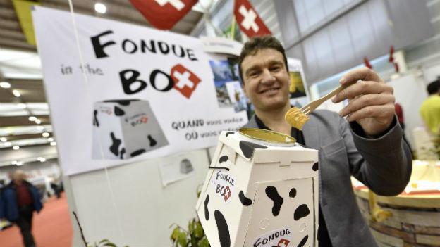 Die Fondue-Box reicht nicht mehr um in Sachen Innovation top zu bleiben: Schweizer Erfindermesse.