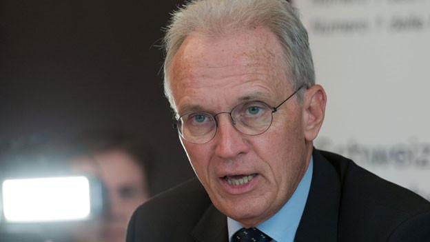 Hans-Ulrich Bigler, Direktor Schweizerischer Gewerbeverband (SGV) am, 22. Oktober 2013 in Bern.