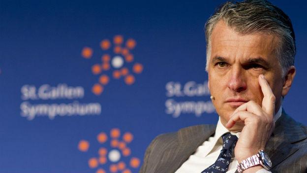 UBS-Chef Sergio Ermotti an einer Veranstaltung in St. Gallen