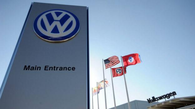 Das VW-Werk in Chattanooga, Tennessee im Süden der USA.
