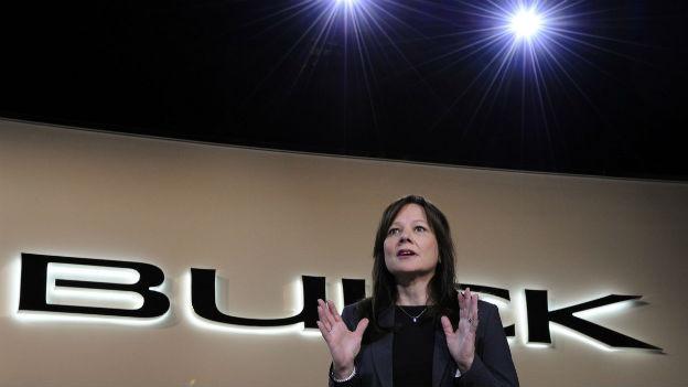 Mary Barra, die neue Chefin von General Motors.