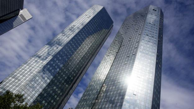 Hauptsitz der Deutschen Bank in Frankfurt.