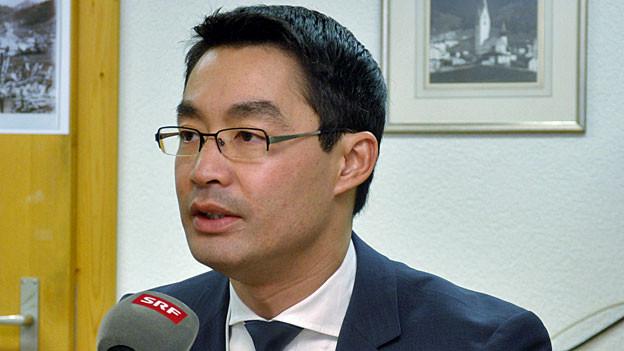 Philipp Rösler, WEF-Direktor für die weltweiten Regierungskontakte.