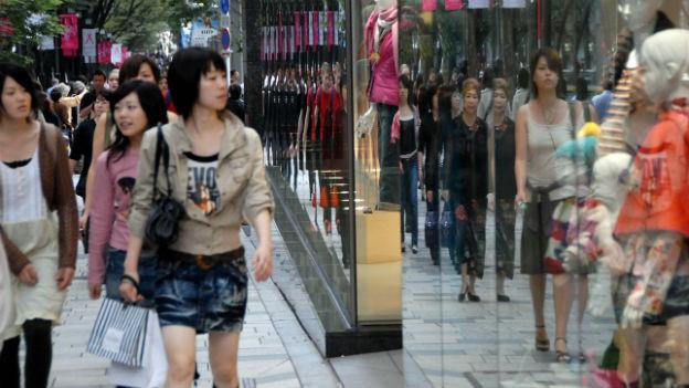 Shopping in Tokio.