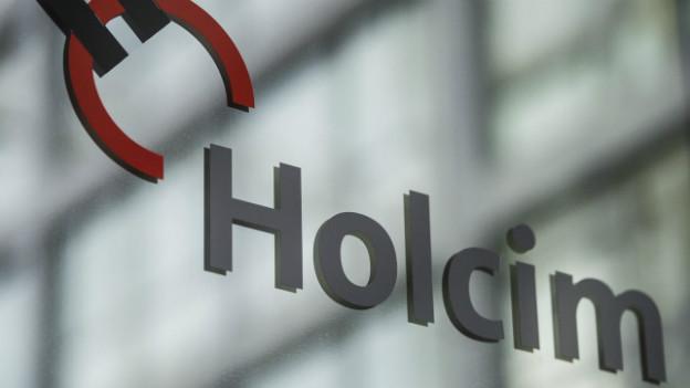 Logo des Schweizer Zementherstellers Holcim.