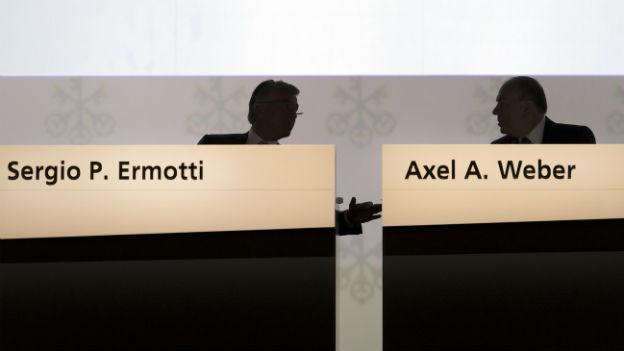 Erfolg für das UBS-Führungsduo Ermotti und Weber